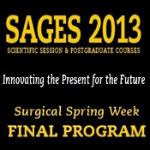 Download the SAGES 2013 Final Program