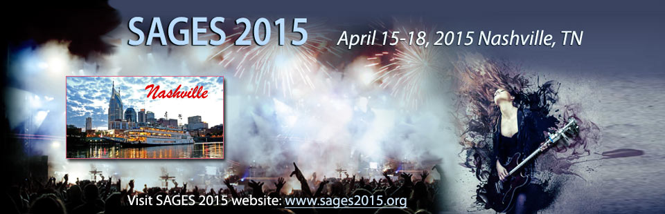 SAGES 2015 Annual Meeting Information