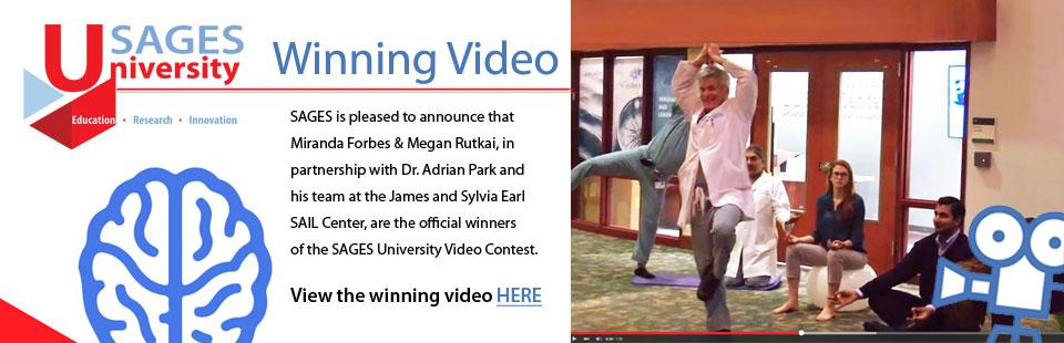 SAGES University Winning Video