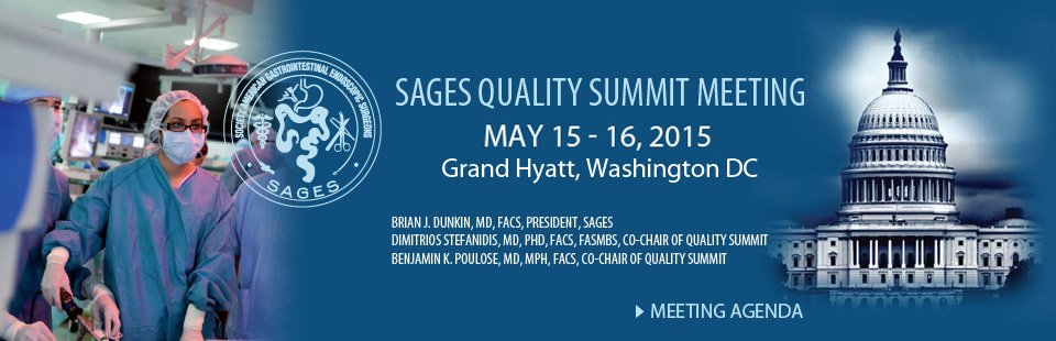 SAGES quality summit meeting