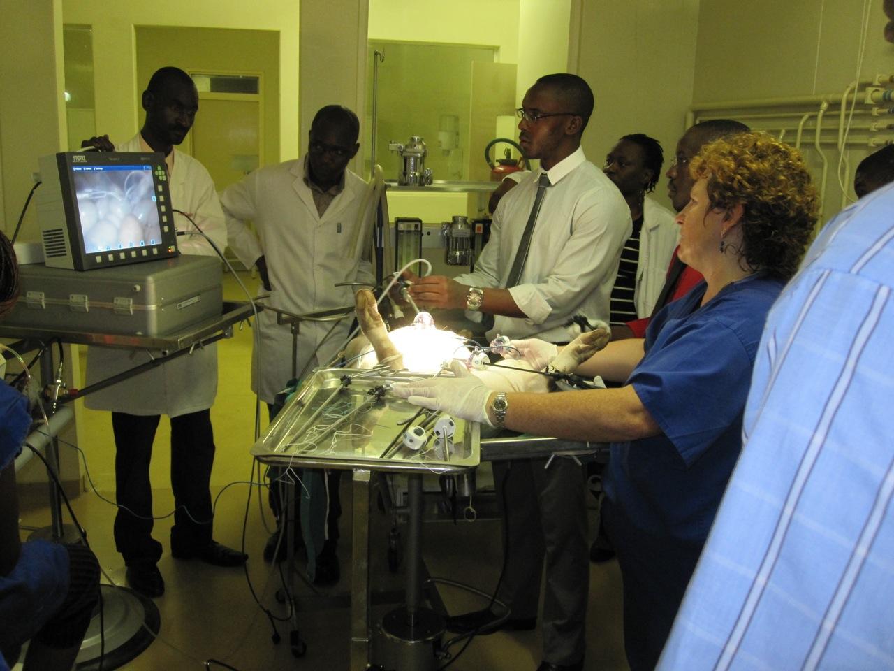 Surgery in Zimbabwe
