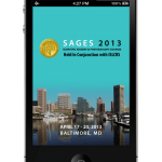SAGES 2013 Meeting App iPhone